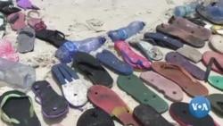 Un boutre en plastique recyclé sensibilise à la pollution au Kenya