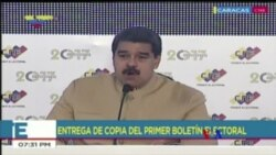 2017-08-01 美國之音視頻新聞: 委內瑞拉制憲大會投票後 美國制裁馬杜羅(粵語)