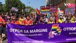 Povorka ponosa: Šetnja kroz Sarajevo