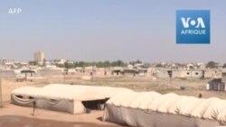 Les forces kurdes installent des tentes à la frontière syro-turque