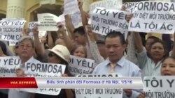 Xuất hiện cấm in khẩu hiệu liên quan đến Formosa