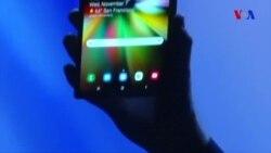 Samsung büküləbilən telefonunu nümayiş etdirdi