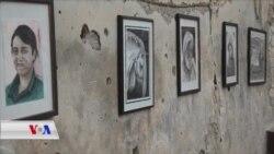 Di Nav Kavilên Kobanê de Pêşengaha Tabloyan