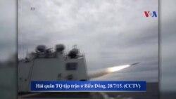 TQ tăng cường phi đạn, máy bay chiến đấu ra Biển Đông