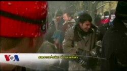 สงครามขว้างหิมะ Snowball Fight ที่กรุงวอชิงตัน