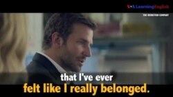 Học tiếng Anh qua phim ảnh: Feel like I belong - Phim Burnt (VOA)