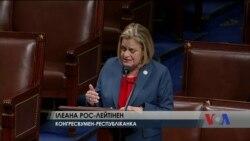 """Конгрес США: """"Резолюція дає чітко зрозуміти, США буде далі протистояти російській агресії"""" в Україні. Відео"""