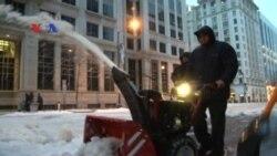 Badai Salju Melanda Pantai Timur AS