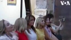 Մելանիա Թրամփը այլ երկրների առաջնորդների կանանց հետ G-7-ի շրջանակներում եկեղեցի է այցելել