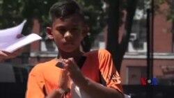 纽约市中心棒球项目旨在打破贫困循环