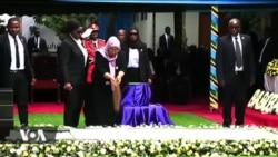 Tanzania : Mwili wa Hayati Magufuli wazikwa kwao Chato