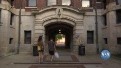 Пандемія вдарила по бізнес-інфраструктурі студентських містечок у США. Відео