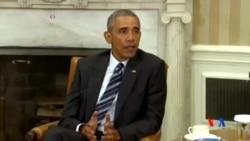 2016-06-14 美國之音視頻新聞: 奧巴馬﹕無證據顯示佛州血案嫌疑人受海外指揮