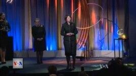 Presidentja Jahjaga nderohet nga Nisma Globale Clinton