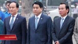 Chủ tịch Hà Nội xuất hiện, xua tan tin đồn bị ung thư