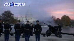 Manchetes Americanas 4 Dezembro: Geoger H. W Bush em câmara ardente no capitólio