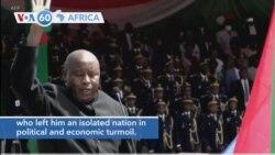 VOA60 Africa - Evariste Ndayishimiye Sworn In as Burundi's New President