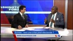 Washington Forum du jeudi 15 octobre 2015 : la Guinée et la crise migratoire au menu