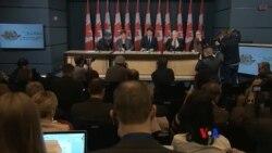 2016-02-09 美國之音視頻新聞: 加拿大將停止空襲伊斯蘭國組織目標