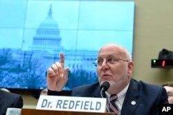 Direktur CDC, Robert Redfield. (AP Photo/Susan Walsh)