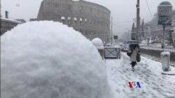 2018-02-26 美國之音視頻新聞:歐洲氣溫普遍出現下降