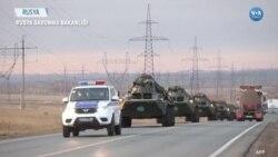 Rus Askerleri Dağlık Karabağ'a Doğru Yola Çıktı