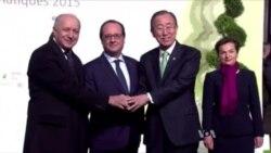 170國星期五簽署巴黎氣候協議