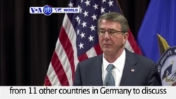 VOA60 World PM - US, Allies Discuss Next Steps in Islamic State Fight