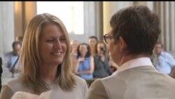 2013-06-29 美國之音視頻新聞: 加州上訴法庭廢除禁止同性婚姻法