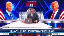 Laporan Langsung VOA untuk Metro TV : Jelang Debat Perdana Pilpres AS
