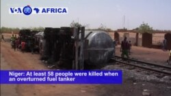 VOA60 Africa - Toll From Niger Tanker Truck Blast Rises to 60