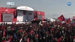 İstanbul'da Trump'ın Ortadoğu Barış Planına Protesto