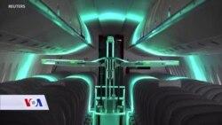 Robot ubija viruse pomoću UV svjetla