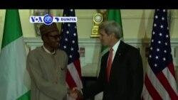 VOA60 DUNIYA: Shugaba Muhammadu Buhari Ya Tattunwa Da Shugaba Barack Obama Da Kuma John Kerry, Yuli 22, 2015