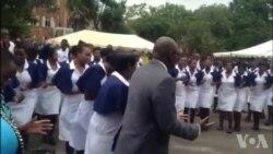 First Lady Auxillia Mnangagwa Visits Mpilo Hospital