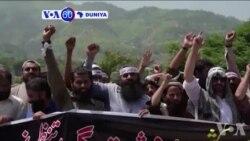 VOA60 DUNIYA: Amurka Ta Sanya 'Yan Awaren Hizb-ul-Mujahideen Dake Yanken KAshimir A Matsayin Kungiyar 'Yan Ta'adda