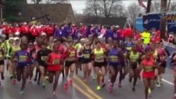 Mbio za Boston Marathon, April 20, 2015
