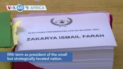 VOA60 Afrikaa - Residents of Djibouti vote in the presidential elections