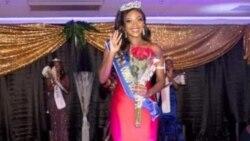 Divine Diamonika abimi Miss ya Congo démocratique na USA