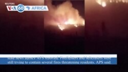 VOA60 Africa - Algeria: Four people killed and three injured in forest fires