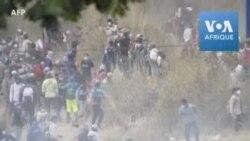 Guatemala: la police fait usage de gaz lacrymogène pour faire reculer des migrants