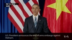 Obama Permits Military Weapons Sales to Vietnam