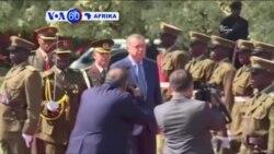 VOA60 Afrika: Rais wa Uturuki Recep Erdogan,afanya ziara Uganda na Kenya kuboresha biashara na kujadili masuala ya msimamo mkali