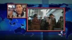 VOA连线:香港当局清理旺角占领区