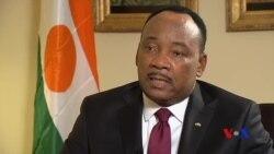 Interview de Mahamadou Issoufou, président du Niger, sur VOA Afrique