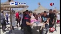 VOA60 DUNIYA: A Tunisia A Kalla Mutane 27 Ne Suka Mutu, Yuni 26, 2015