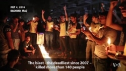 Candlelight Vigil Held for Baghdad Bombing Victims
