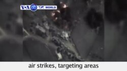 VOA60 World - Syria: Russia launches further airstrikes - October 1, 2015
