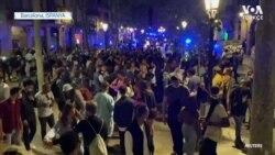Eğlenmek İsteyen Barcelonalılar Önlemleri Dikkate Almadı