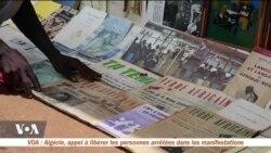 Portrait d'un revendeur d'archives à Bangui
